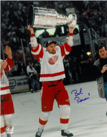Bob Rouse Autographed Detroit Red Wings 11x14 Photo