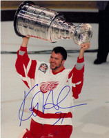 Kevin Hodson Autographed Detroit Red Wings 11x14 Photo