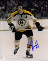 Phil Esposito Autographed Boston Bruins 11x14 Photo #1
