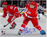 Kyle Quincey Autographed Detroit Red Wings 8x10 Photo #2 (2012)
