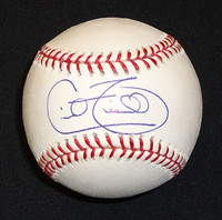 Cecil Fielder Autographed Baseball - Official Major League Ball