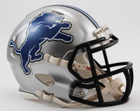 Detroit Lions Riddell Mini Speed Helmet 2009-16