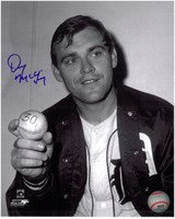 Denny McLain Autographed Detroit Tigers 8x10 Photo #8
