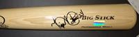 Miguel Cabrera Autographed Big Stick Bat (Tan)