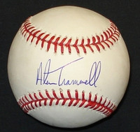 Alan Trammell Autographed Baseball - Official Major League Ball (Pre-Order)