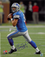 Matthew Stafford Autographed Detroit Lions 16x20 Photo #2 - Home Action