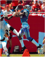 Chris Houston Autographed Detroit Lions 8x10 Photo #2 - Interception vs Tampa Bay