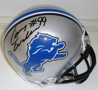Corey Williams Autographed Detroit Lions Mini Helmet