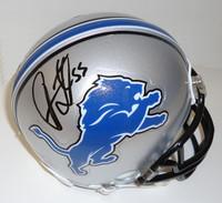 Stephen Tulloch Autographed Detroit Lions Mini Helmet