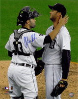 Alex Avila Autographed Detroit Tigers 16x20 Photo #2 - Galarraga Almost Perfect