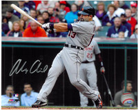 Alex Avila Autographed Detroit Tigers 8x10 Photo #4 - Road Swinging