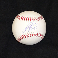 Al Alburquerque Autographed Baseball - Official Major League Ball