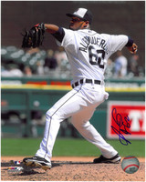 Al Alburquerque Autographed Detroit Tigers 8x10 Photo #2