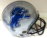 Matthew Stafford Autographed Detroit Lions Pro Line Helmet