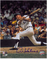 Al Kaline Autographed Detroit Tigers 8x10 Photo - Classic Swinging