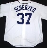 Max Scherzer Autographed Detroit Tigers Jersey - Home Replica