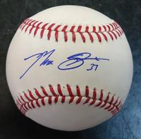 Max Scherzer Autographed Baseball