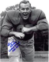 Sonny Gandee Autographed Detroit Lions 8x10 Photo