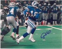 Desmond Howard Autographed Detroit Lions 8x10 Photo