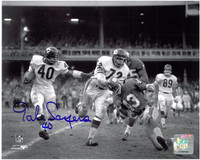 Gale Sayers Autographed Chicago Bears 8x10 Photo #2