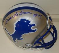Dick Lebeau Autographed Detroit Lions Mini Helmet