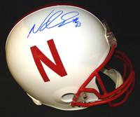 Ndamukong Suh Autographed Nebraska Full Size Deluxe Replica Helmet