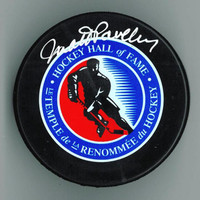 Matt Pavelich Autographed Hockey Hall of Fame Puck
