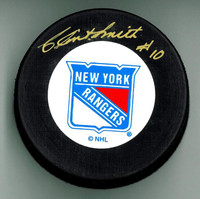 Clint Smith Autographed Hockey Puck