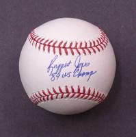 """Ruppert Jones Autographed Baseball w/ """"84 World Champs"""""""