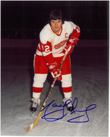 Marcel Dionne Autographed Detroit Red Wings 8x10 Photo #1