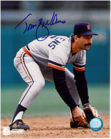 Tom Brookens Autographed Detroit Tigers 8x10 Photo #2