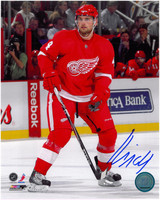 Jakub Kindl Autographed Detroit Red Wings 8x10 Photo #1