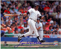 Lou Whitaker Autographed Detroit Tigers 8x10 Photo #9