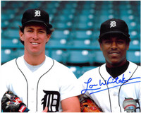 Lou Whitaker Autographed Detroit Tigers 8x10 Photo #8