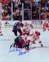 Darren McCarty Autographed 16x20 Photo #1 - Fight vs. Claude Lemieux