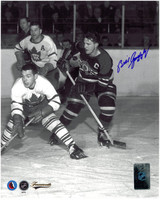 Bill Gadsby Autographed Chicago Blackhawks 8x10 Photo #4