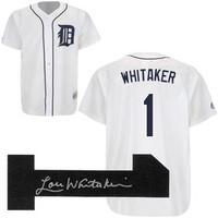 Lou Whitaker Autographed Detroit Tigers Jersey