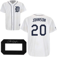 Howard Johnson Autographed Detroit Tigers Jersey