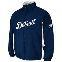 Detroit Tigers Authentic Double Climate 2016 On-Field Jacket
