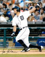 Ian Kinsler Autographed Detroit Tigers 16x20 Photo #2 - Home Batting