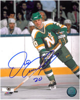 Dino Ciccarelli Autographed Minnesota North Stars 8x10 Photo #3