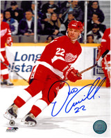 Dino Ciccarelli Autographed Detroit Red Wings 8x10 Photo #1
