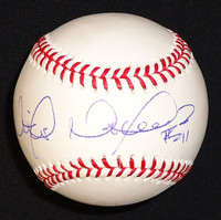 Victor Martinez Autographed Baseball - Official Major League Ball