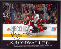 "Niklas Kronwall Autographed Detroit Red Wings 8x10 Photo #6 ""Kronwalled"""