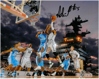 Adreian Payne Autographed Michigan State Spartans 8x10 Photo #1 - Carrier Classic