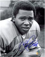 Charlie Sanders Autographed Detroit Lions 8x10 Photo #5