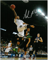 Adreian Payne Autographed Michigan State Spartans 8x10 Photo #4 - Laying it up