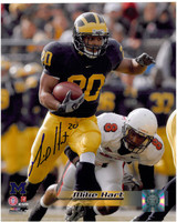 Mike Hart Autographed Michigan Wolverines 8x10 Photo #1