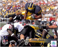 Mike Hart Autographed Michigan Wolverines 8x10 Photo #2