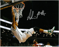 Adreian Payne Autographed Michigan State Spartans 8x10 Photo #2 - Big Dunk